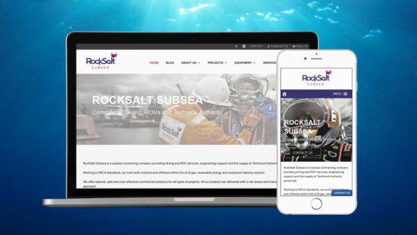 New website for RockSalt Subsea